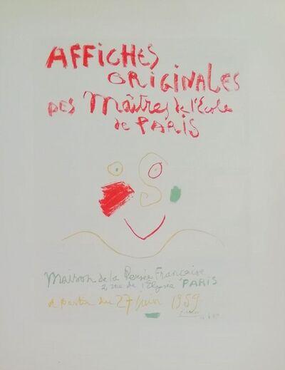 Pablo Picasso, 'Affiches Originales', 1959