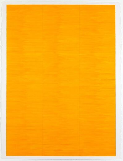 Jon Poblador, 'Yellow Field', 2020