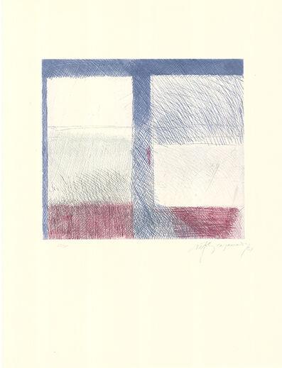 Albert Ràfols-Casamada, 'Barcelona-8', 1981