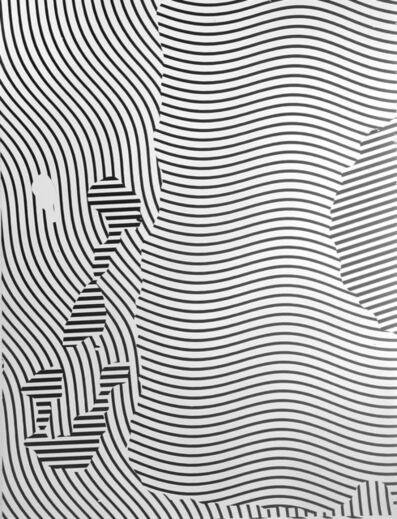 """Gottfried Jäger, 'Variation 2-163 (Photo graphic work from the series """"Theme and Variations II"""" (Crack), 1962-1965)', 1965"""