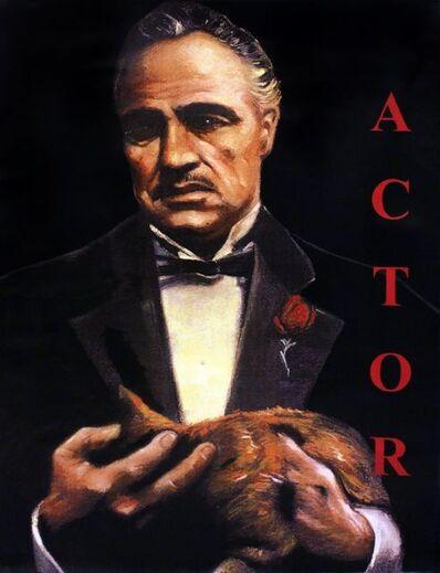 Steve Kaufman, 'MARLON BRANDO - ACTOR', 1995-2005