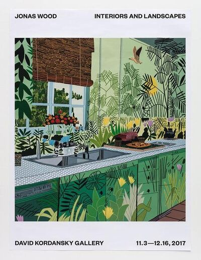 Jonas Wood, 'A Poster for Interiors and Landscapes', 2017