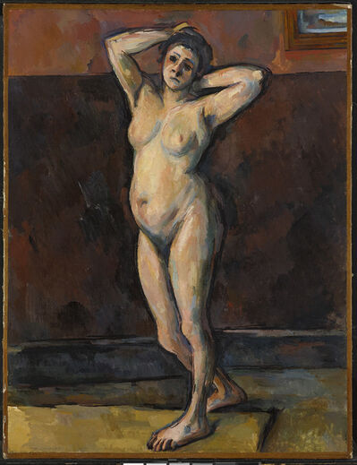 Paul Cézanne, 'Standing Nude', about 1898