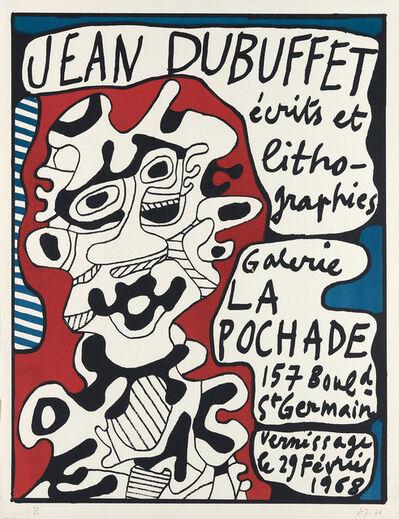 Jean Dubuffet, 'Affiche', 1968