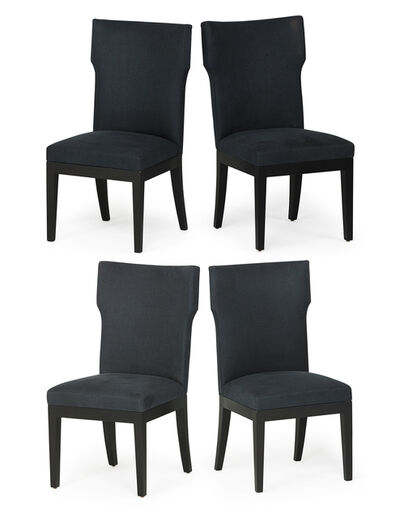 Christian Liaigre, 'Four tall back chairs, New York', 2000s