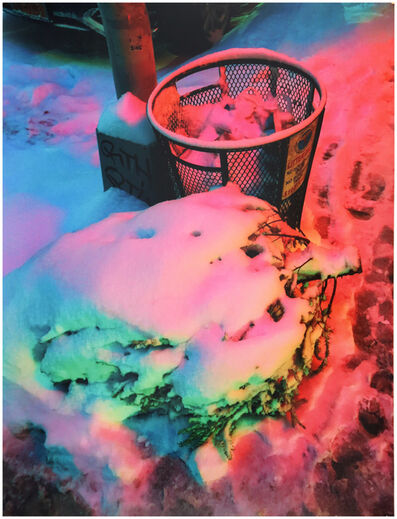 Signe Pierce, 'Neon Snow Pt. II (SoHo, NYC)', 2017