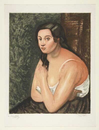 Jacques Villon, 'Buste de Femme', 1922