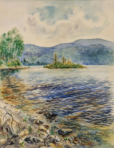 George Grosz, 'Lake Scene'