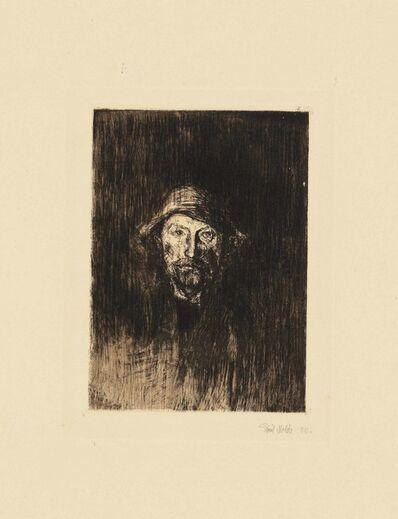 Emil Nolde, 'Der Maler (Selbstbildnis)', 1905-06
