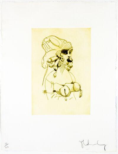 Claes Oldenburg, 'Bust (yellow ochre)', 1975
