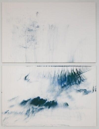 Makoto Fujimura, 'Walking on Water (Grace & Waves) 行在水面上 -恩典與浪潮', 2018