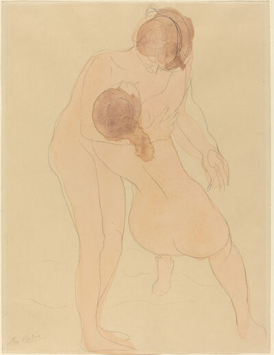 Auguste Rodin, 'Two Figures', ca. 1905