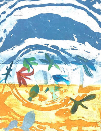 Jan Farrell, 'Sand and Sea', 2021