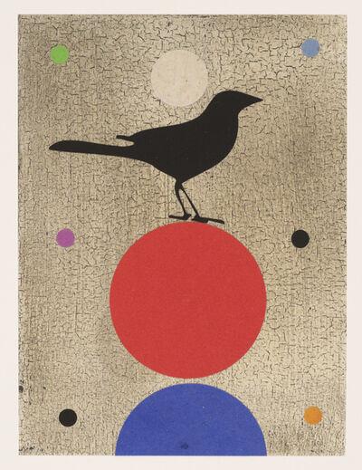 Dan Rizzie, 'Tantric Bird Red (Balance)', 2018