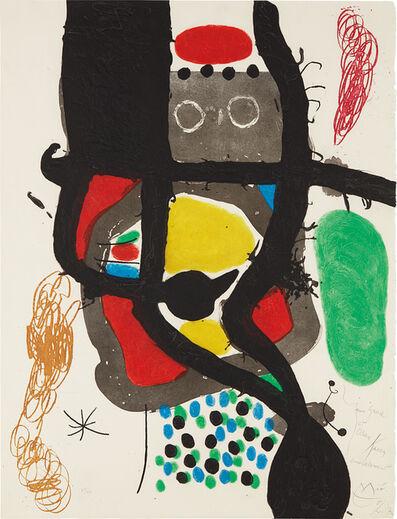 Joan Miró, 'Le Caissier (The Cashier)', 1969