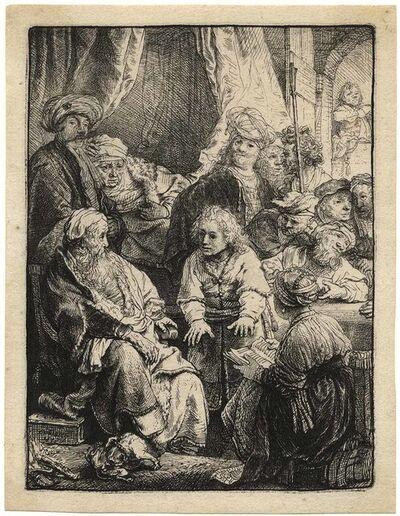 Rembrandt van Rijn, 'Joseph Telling his Dreams', 1638