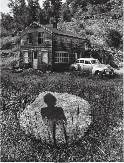 Jerry Uelsmann, 'Enigmatic Figure, Forgotten Heritage, Untitled', 1959, 1969, 1971