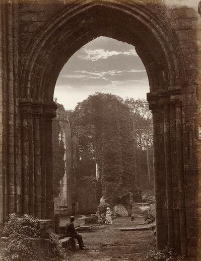 John Payne Jennings, 'Furness Abbey', 1860s