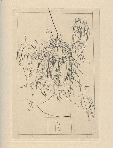 Alberto Giacometti, 'Histoire de rats', 1947