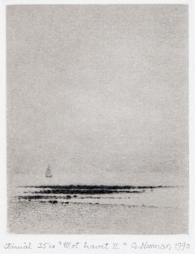 Gunnar Norrman, 'Mot havet II (Toward the Sea II)', 1990
