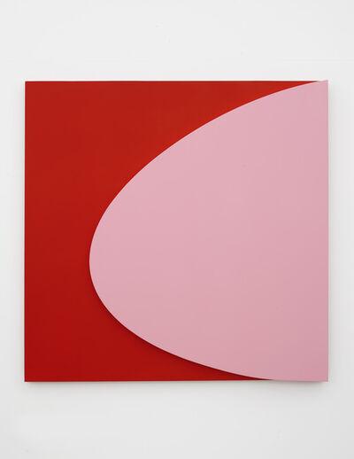 Gavin Turk, 'Pink on Red', 2018