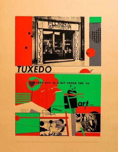 Richard Merkin, 'Art and perfume Tuxedo Pop Art Color Screenprint Richard Merkin', 1960-1969