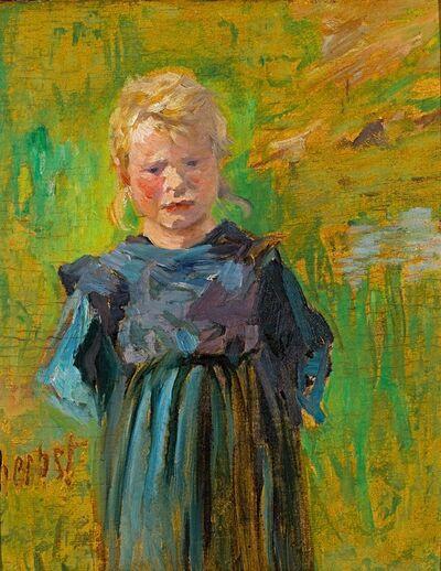 Thomas Herbst, 'Bauernmädchen', 1895