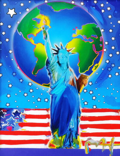 Peter Max, 'PEACE ON EARTH', 2001