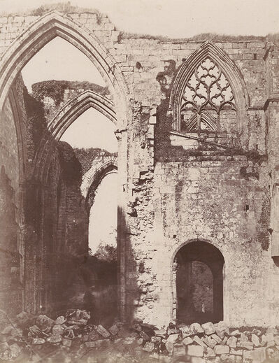 Philip Henry Delamotte, 'Bolton Priory. From the South', 1856