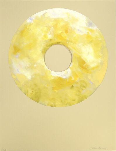 Jann Haworth, 'Italian White Peach and Creme Fraiche Donut', 2016