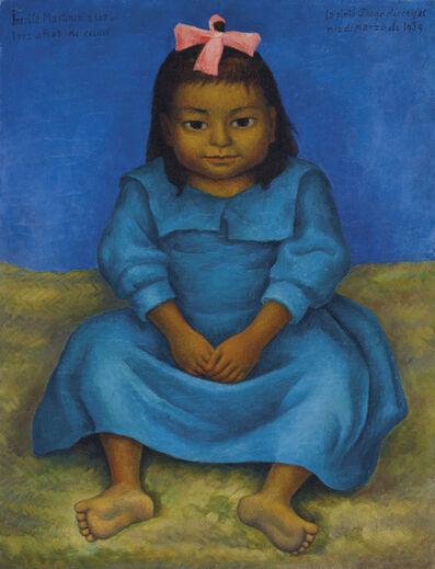 Diego Rivera, 'Retrato de Inesita Martínez', 1939