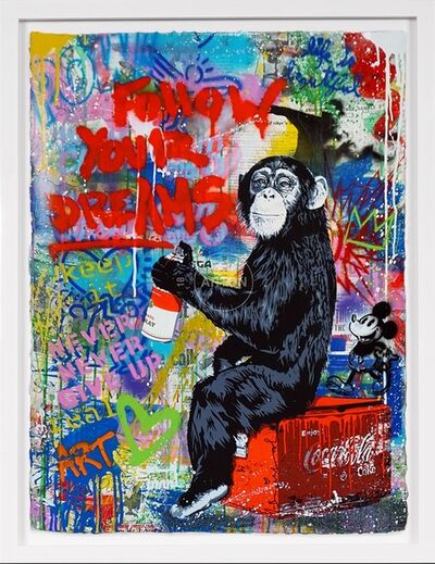 Mr. Brainwash, 'Follow Your Dreams (Unique)', 2020
