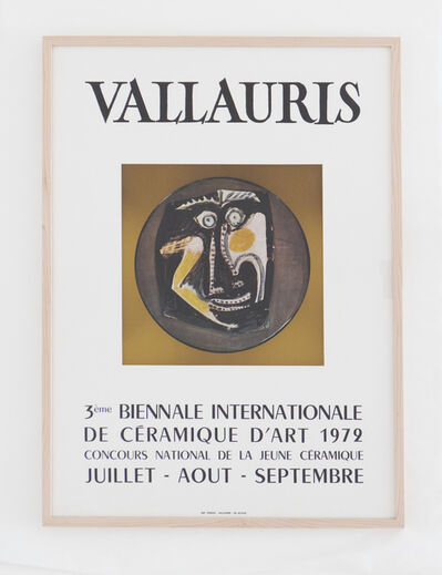 Pablo Picasso, 'Vallauris 3ème Biennale Internationale de la Céramique d'art 1972', 1972
