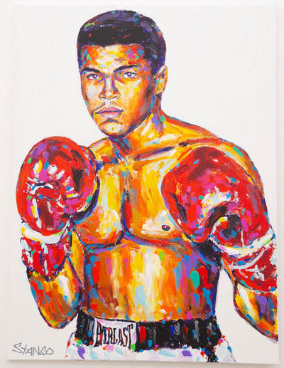 John Stango, 'Ali Red Gloves', ca. 2018