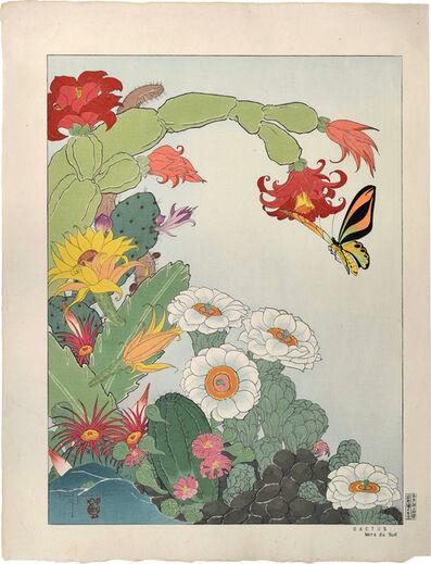 Paul Jacoulet, 'Cactus Mers du Sud', ca.  1941