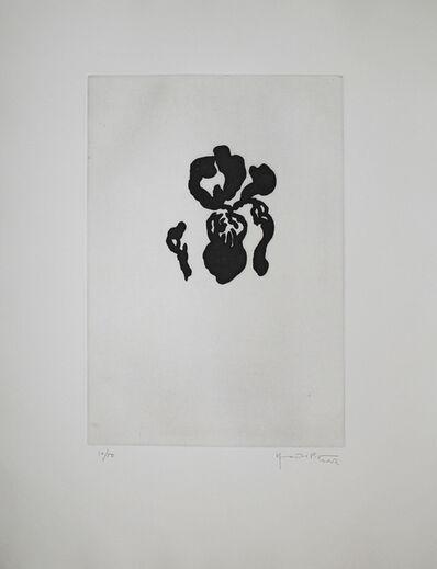 Joan Hernández Pijuan, 'Iris negre IV (Black Iris IV)', 2002
