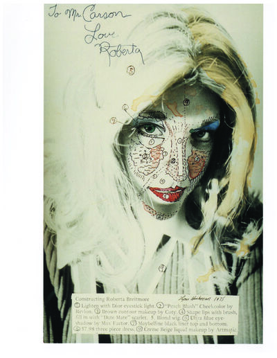Lynn Hershman Leeson, 'Constructing Roberta Breitmore', 1975