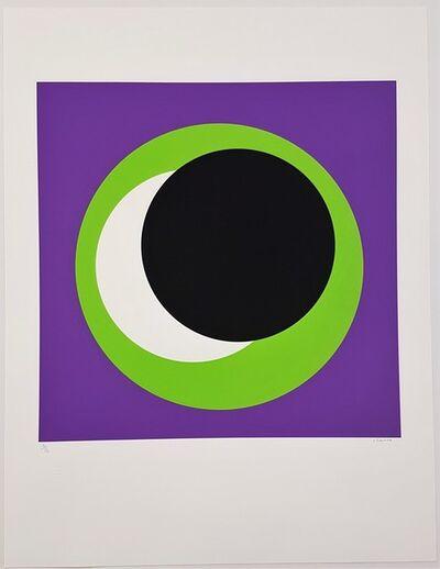Geneviève Claisse, 'Black and Green Circle (Cercle noir et vert)', 2015