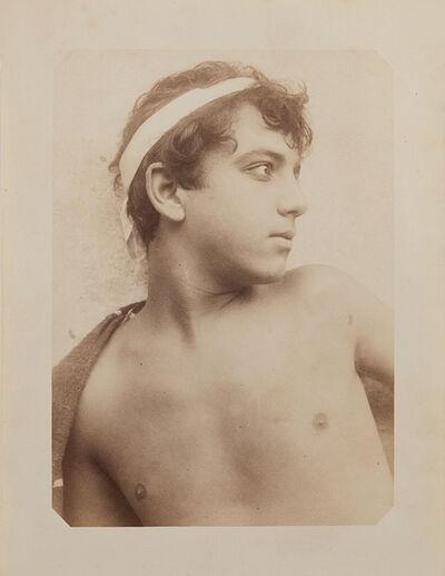 Wilhelm Von Gloeden, 'Giovane ragazzo siciliano', 1890s