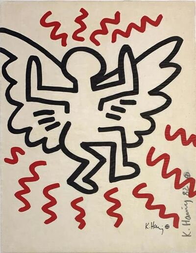 Keith Haring, 'Bayer Suite #3', 1982