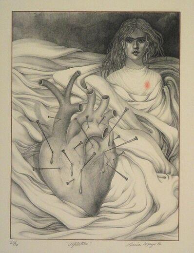 "LUCIA MAYA, '""Alfiletero""', 1985"