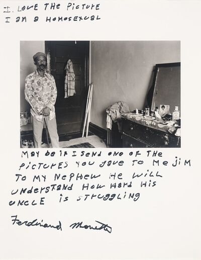 Jim Goldberg, 'Ferdinand Monette, from the series Rich and Poor', 1977