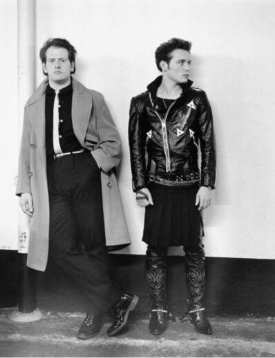 Janette Beckman, 'Adam Ant & Marco', 1981