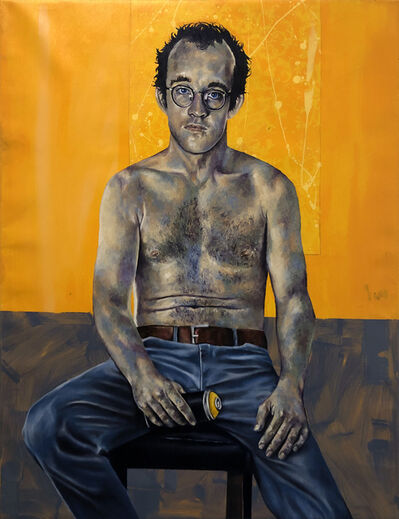 Robert Peterson (b.1981), 'Keith and His Yellow Can', 2019