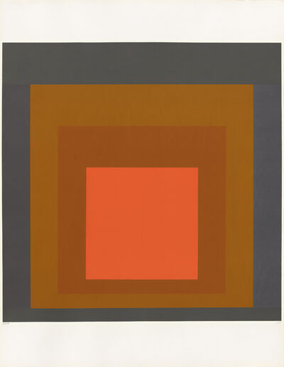 Josef Albers, 'Editions Domberger R1-67', 1967