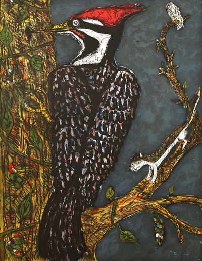 Frank X. Tolbert, 'Pileated Woodpecker ', 2014
