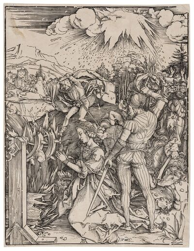 Albrecht Dürer, 'The Martyrdom of Saint Catherine', circa 1498