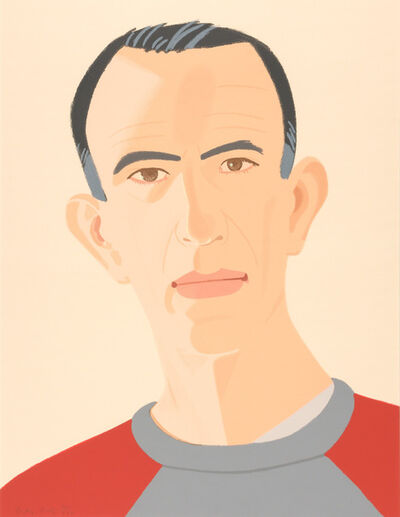 Alex Katz, 'Sweatshirt II (Self Portrait) (S. 248)', 1990