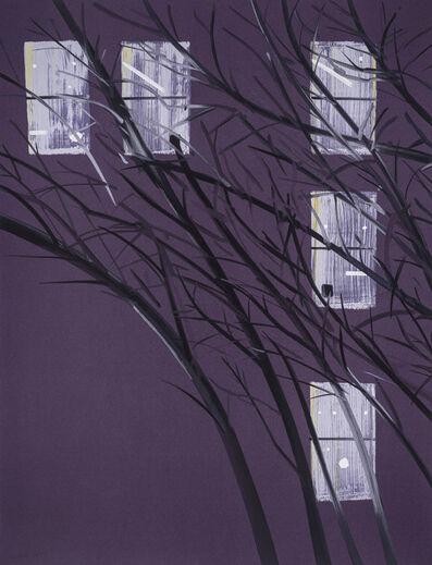 Alex Katz, 'Purple Wind', 2017