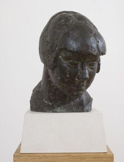 Frank Dobson, 'Head of a Girl (Study for Cornucopia)', 1925